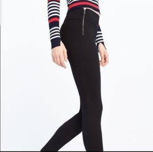 ZARA Trafaluc Leggings with side Zippers